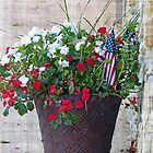 Flower & Flags by FrankieCat