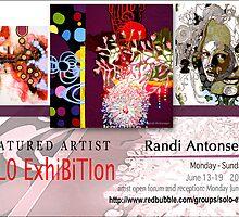 Randi Antonsen, Solo Exhibition Banner by solo-exhibition
