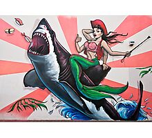 Jumping the Shark Photographic Print