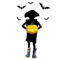Halloween Dobby Photographic Print