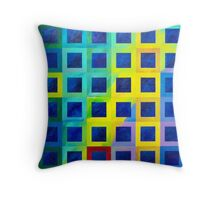 Dawn over the valley Throw Pillow
