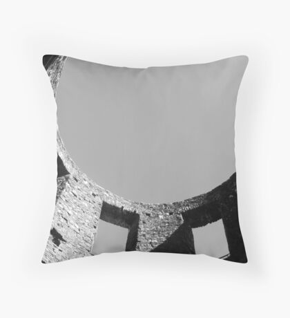 castle turret  Throw Pillow
