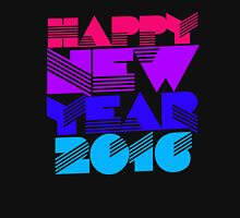 Happy New Year 2016 Women's Fitted Scoop T-Shirt