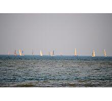 Sailboats on Lake Ontario Photographic Print