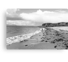 Going for a Paddle Canvas Print