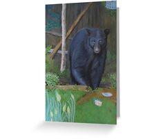 Backyard Marauder Greeting Card
