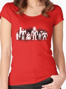 Plastic Villains / The Usual Suspects Women's Fitted Scoop T-Shirt