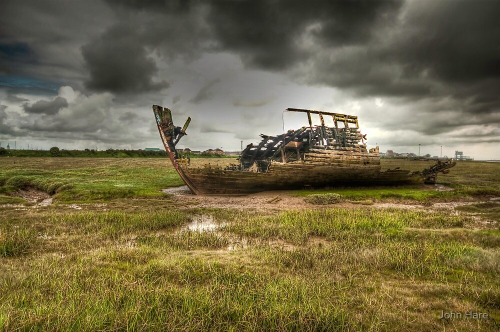Grounded And Gutted by John Hare