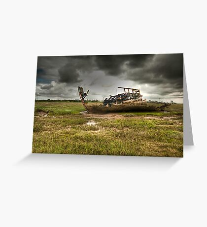Grounded And Gutted Greeting Card