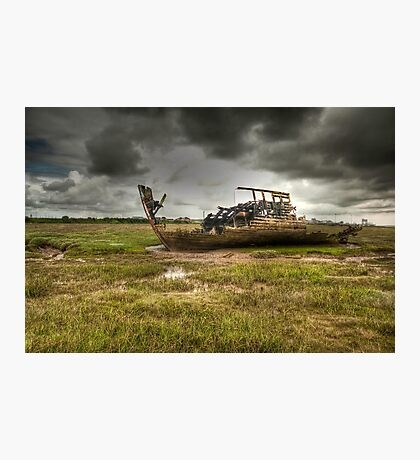 Grounded And Gutted Photographic Print