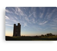 tower to the sky Canvas Print