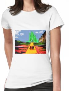 EMERALD CITY Womens Fitted T-Shirt