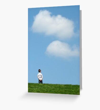 Deep Thoughts Greeting Card