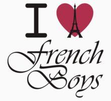 I heart French Boys by tiffanyluke