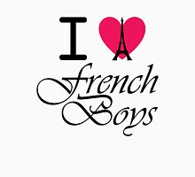I heart French Boys Womens Fitted T-Shirt