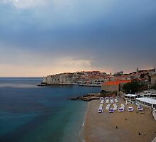 Dubrovnik - the view from my hotel by julie08