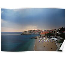 Dubrovnik - the view from my hotel Poster