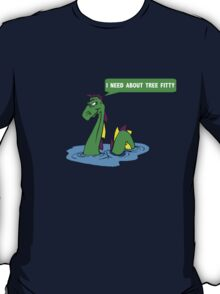 """South park quote """"I need about tree fitty"""" said by chef's dad T-Shirt"""