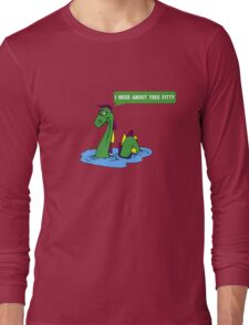 "South park quote ""I need about tree fitty"" said by chef's dad Long Sleeve T-Shirt"