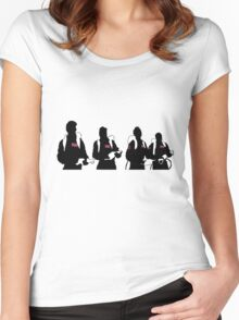 The Showdown (Light version) Women's Fitted Scoop T-Shirt