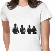 The Showdown (Light version) Womens Fitted T-Shirt