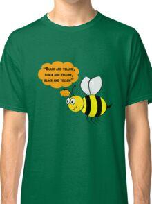 Black and yellow, Wiz Khalifa music parody Classic T-Shirt