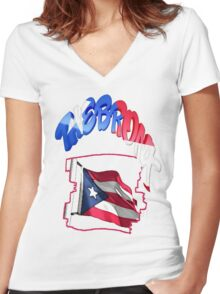 The Bronx Women's Fitted V-Neck T-Shirt