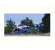 Transport Helicopter Art Print
