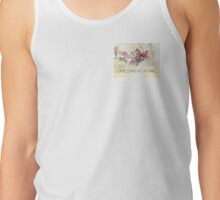 One Day at a Time Pink Blossoms Tank Top