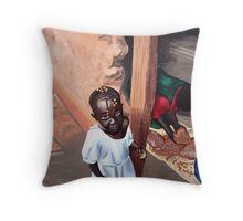 Uganda Throw Pillow