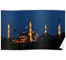 Towers and Minarets Poster