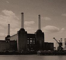 Battersea Power Station Reticulated, London 2011 by Timothy Adams