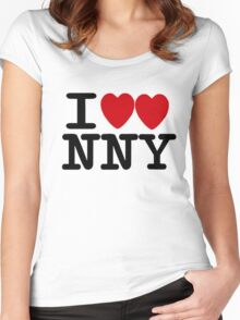 I ♥♥ New New York  Women's Fitted Scoop T-Shirt
