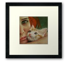 The only one that understands  Framed Print