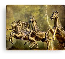 Electric Steeds Of Appolo Canvas Print