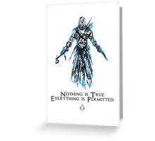 Assassin's Creed Art Greeting Card
