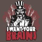 I want YOUR brains! by vargasvisions