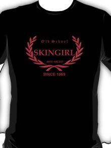 Old School Skingirl (in red) T-Shirt