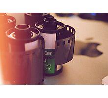 Film and my mac Photographic Print