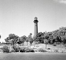 Jupiter Lighthouse by AnalogSoulPhoto