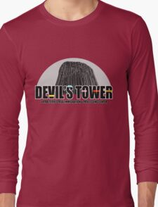 Devil's Tower Extra-Terrestrial Immigration & Processing Centre Long Sleeve T-Shirt