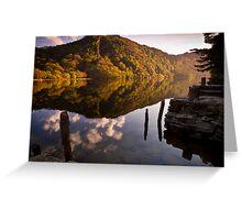 Upper Lake, Glendalough, Co. Wicklow, Ireland Greeting Card