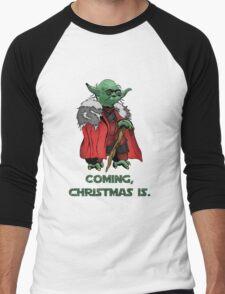 Yoda Stark Christmas Men's Baseball ¾ T-Shirt