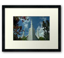 Portland Oregon LDS Temple Framed Print