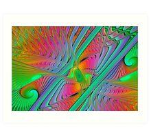 Colorful Splits-Cylinder Art Print