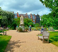 Inside the Chelsea Physic Garden,  London 10 by Priscilla Turner