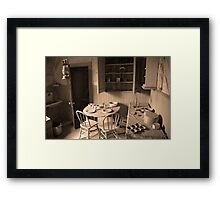 Bodie California ( Interior) Framed Print