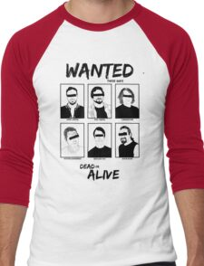 Wanted dead or ALIVE Men's Baseball ¾ T-Shirt