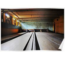 Norwich State Hospital, Underground Bowling Alley Poster