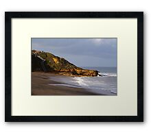 To the Lookout Framed Print